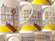 Portobello Prom Porcelain Mugs